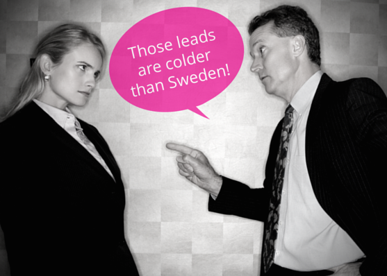 Those leads are colder than Sweden - lead generation