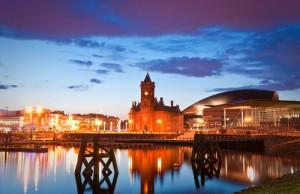 Cardiff Bay development