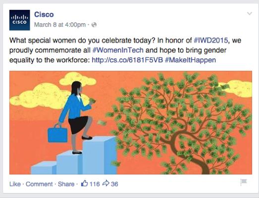 Cisco Relevant Post Facebook Tips
