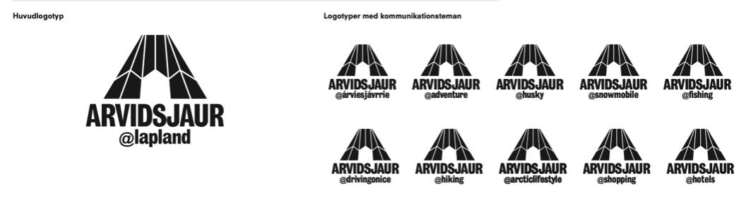 arvidsjuar logo designs