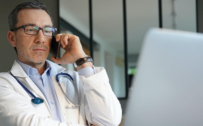 HCP marketing busy doctor rv