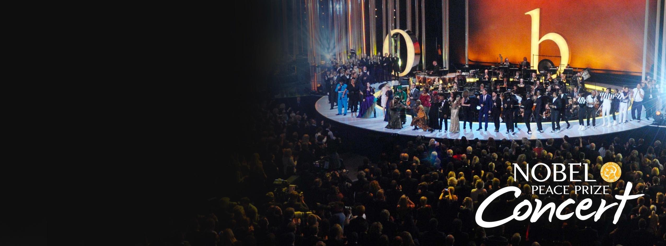 Nobel Peace Prize Concert Branding