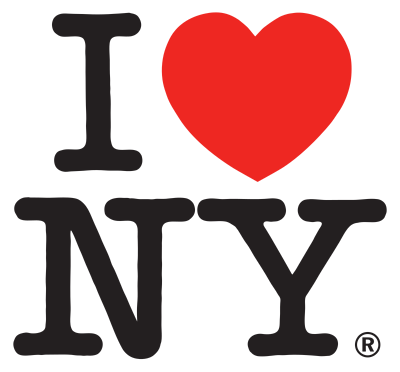 Milton Glaser's I heart New York might be the world's most plagiarised logotype.