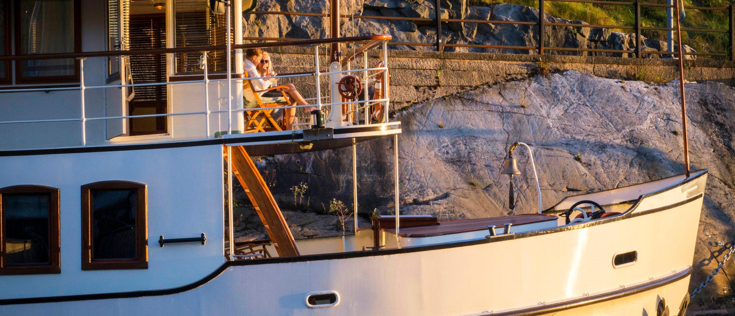 Oaxen Krog & Slip - Stockholm's charming floating hotel