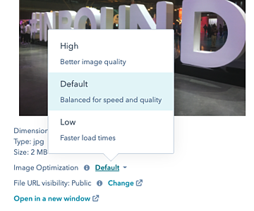 Optimize your images size and file names