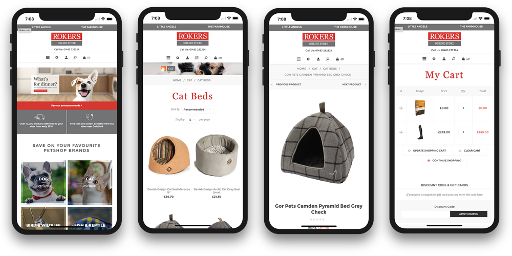 Rokers new eCommerce website