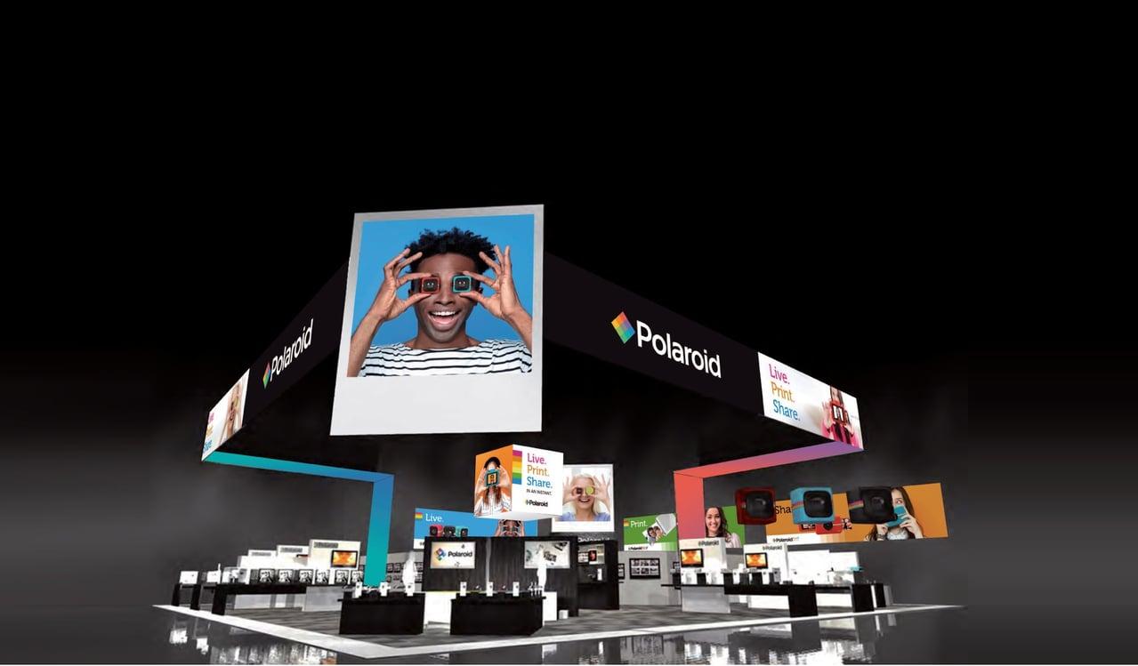 Polaroid CES 2017 casde