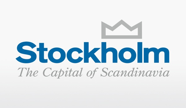 Stockholm the capital of Scandinavia logo