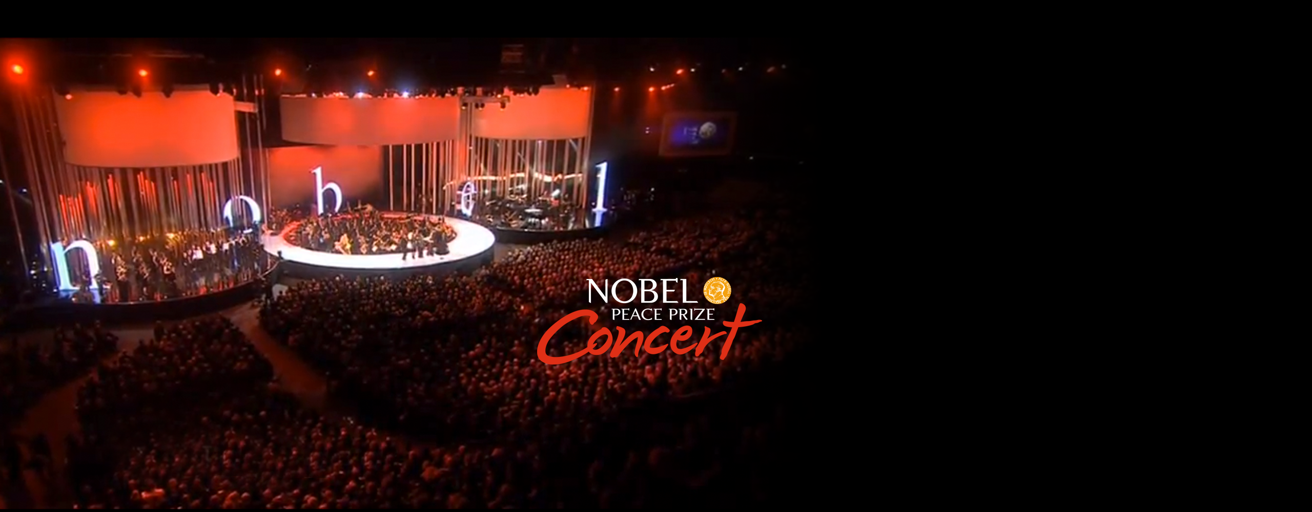 Creating a new image for the Nobel Peace Prize Concert