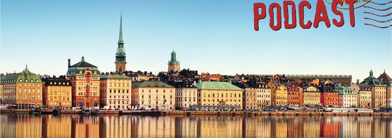 Place branding podcast Stockholm