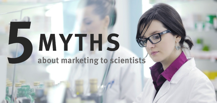 5 myths marketing scientists - differences about selling to scientists
