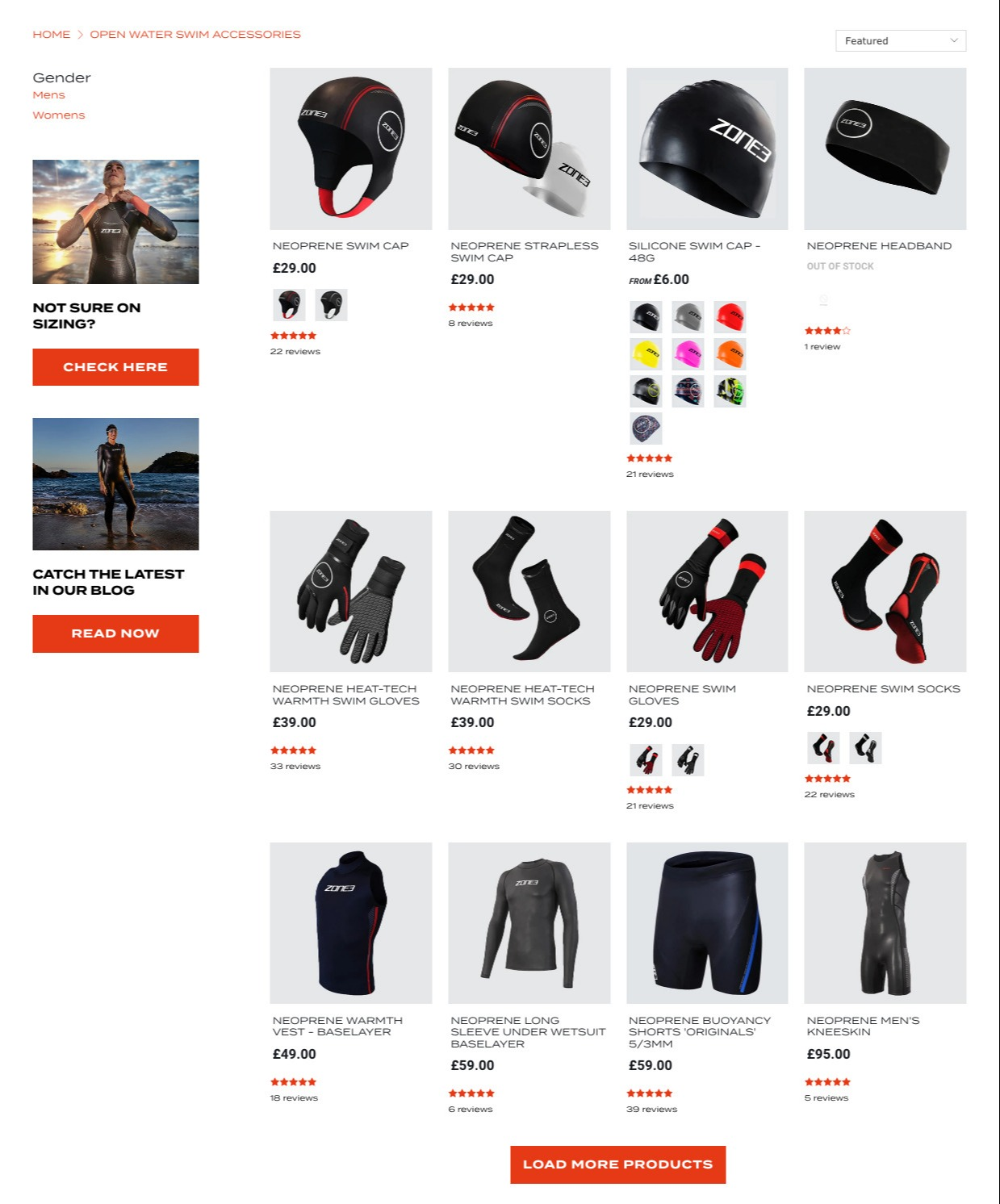 Zone3 ecommerce website Shopify premium