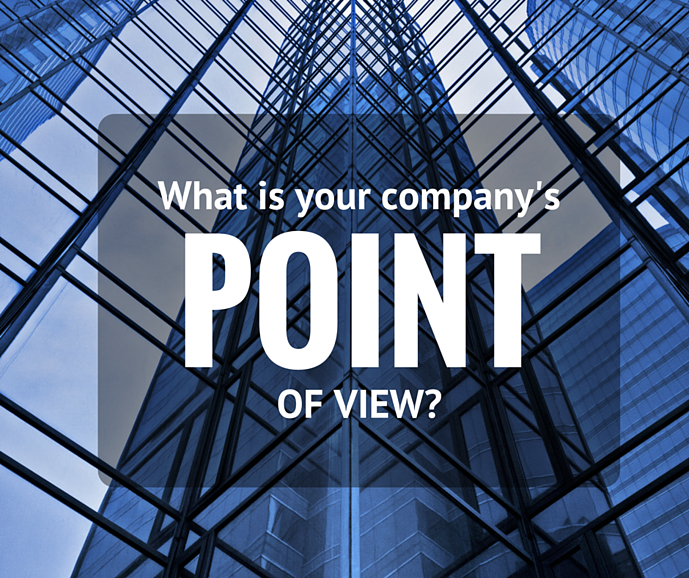 IT Marketing - Have a point of view