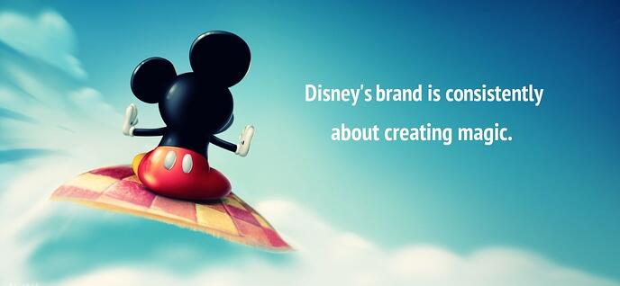 creating consistent brands images Disneys brand about creating magic