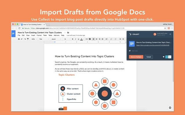 google Drafts Import Tool Hubspot