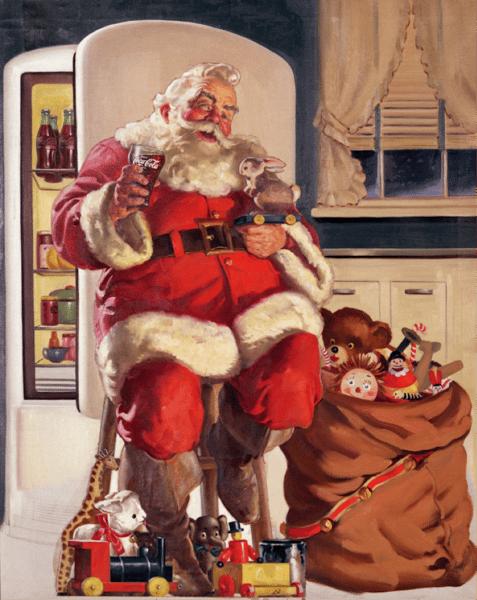 Santa Claus by Coca-Cola