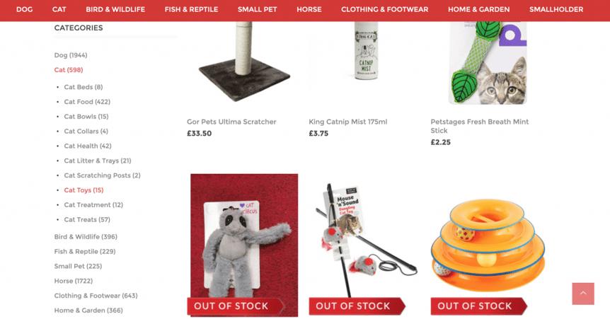 nopCommerce website Rokers UP Digital