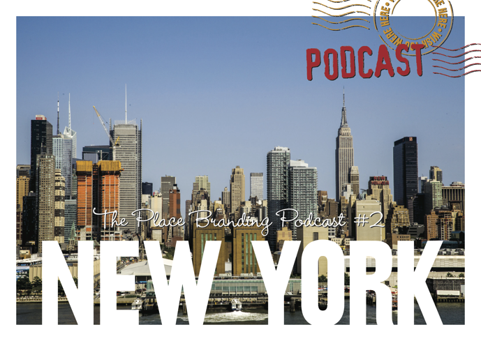 Wish You Were Here - the Place Branding Podcast features New York and Milton Glaser