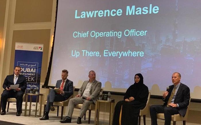 Lawrence Masle Place Branding Panel Dubai Investment Week