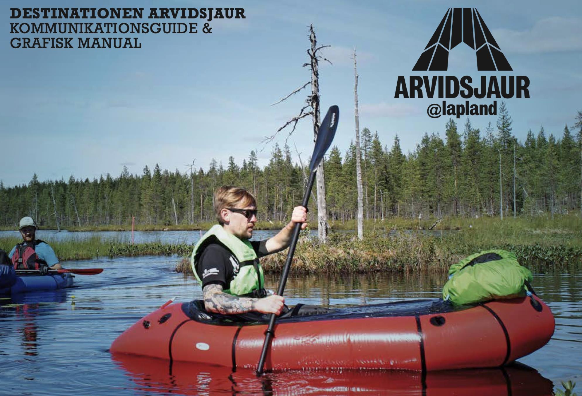 arvid lapland paddling