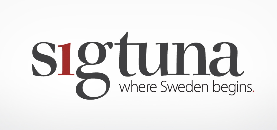 Sigtuna Logo by UP THERE EVERYWHERE