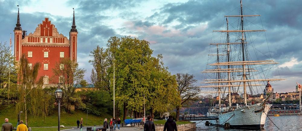Stockholm the capital of Scandinavia mobile