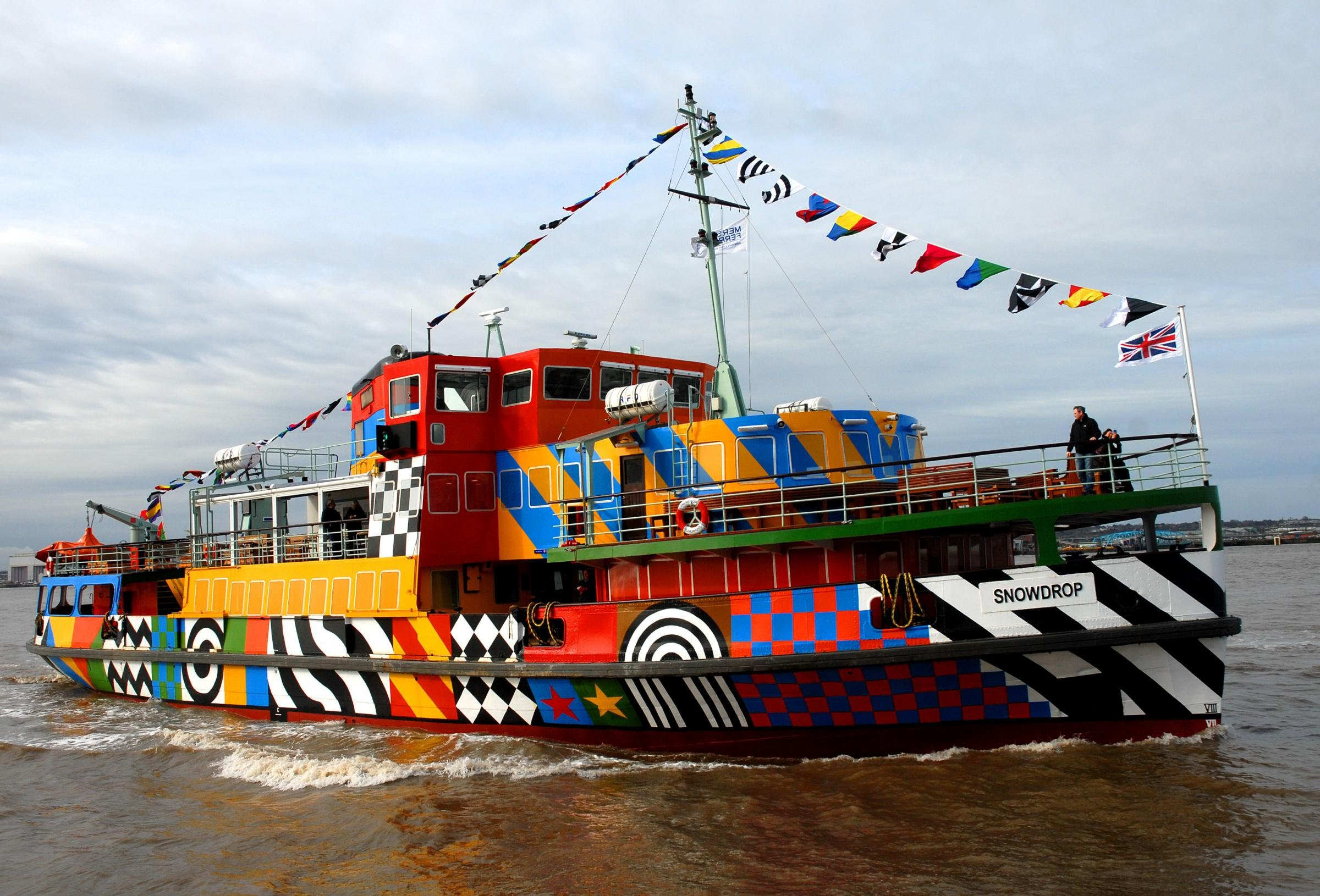 razzle dazzle mersey ferry